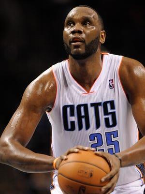 Charlotte Bobcats center Al Jefferson (25) will miss six weeks after surgery.