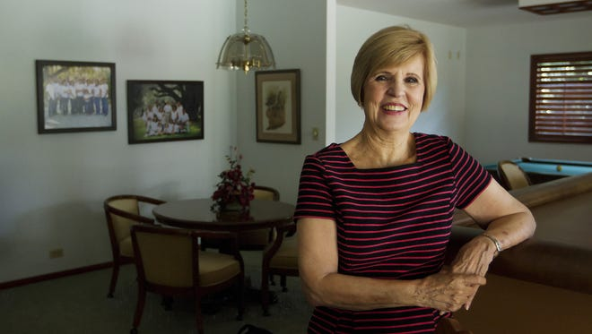 Pilot Club member Linda Hessler has supported the FGCU scholarship house from the beginning.