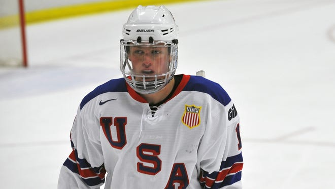Jack Eichel, who'll play for Boston University this season, will battle Canadian Connor McDavid for the top spot in the draft.