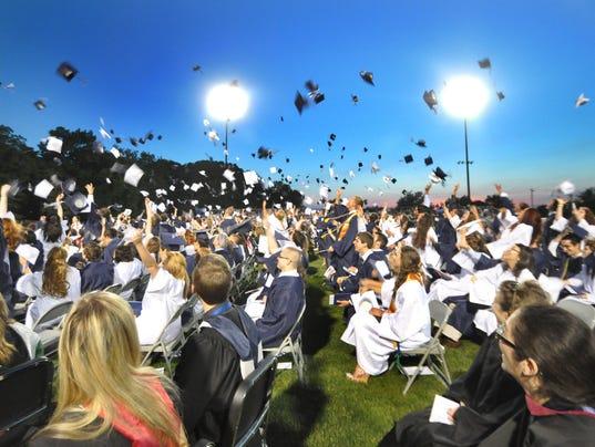 Dallastown High School graduation