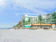 Four proposed hotels range the beach from east to west,