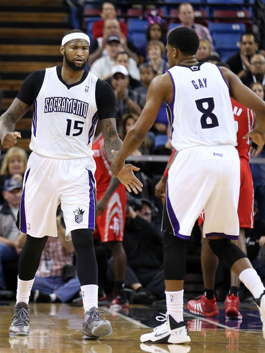 2013-12-15 DeMarcus Cousins Rudy Gay