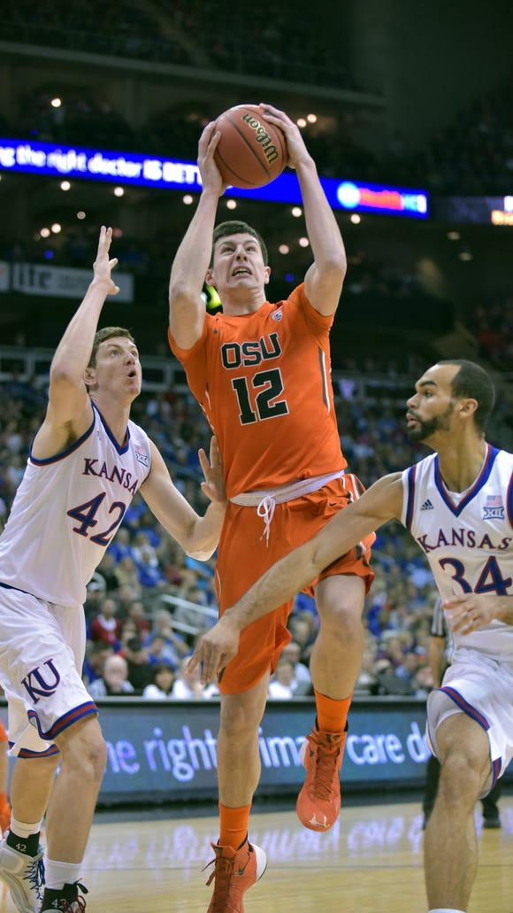 OSU forward Drew Eubanks averaged 7.6 points, 4.6 rebounds and 1.2 blocks last season.