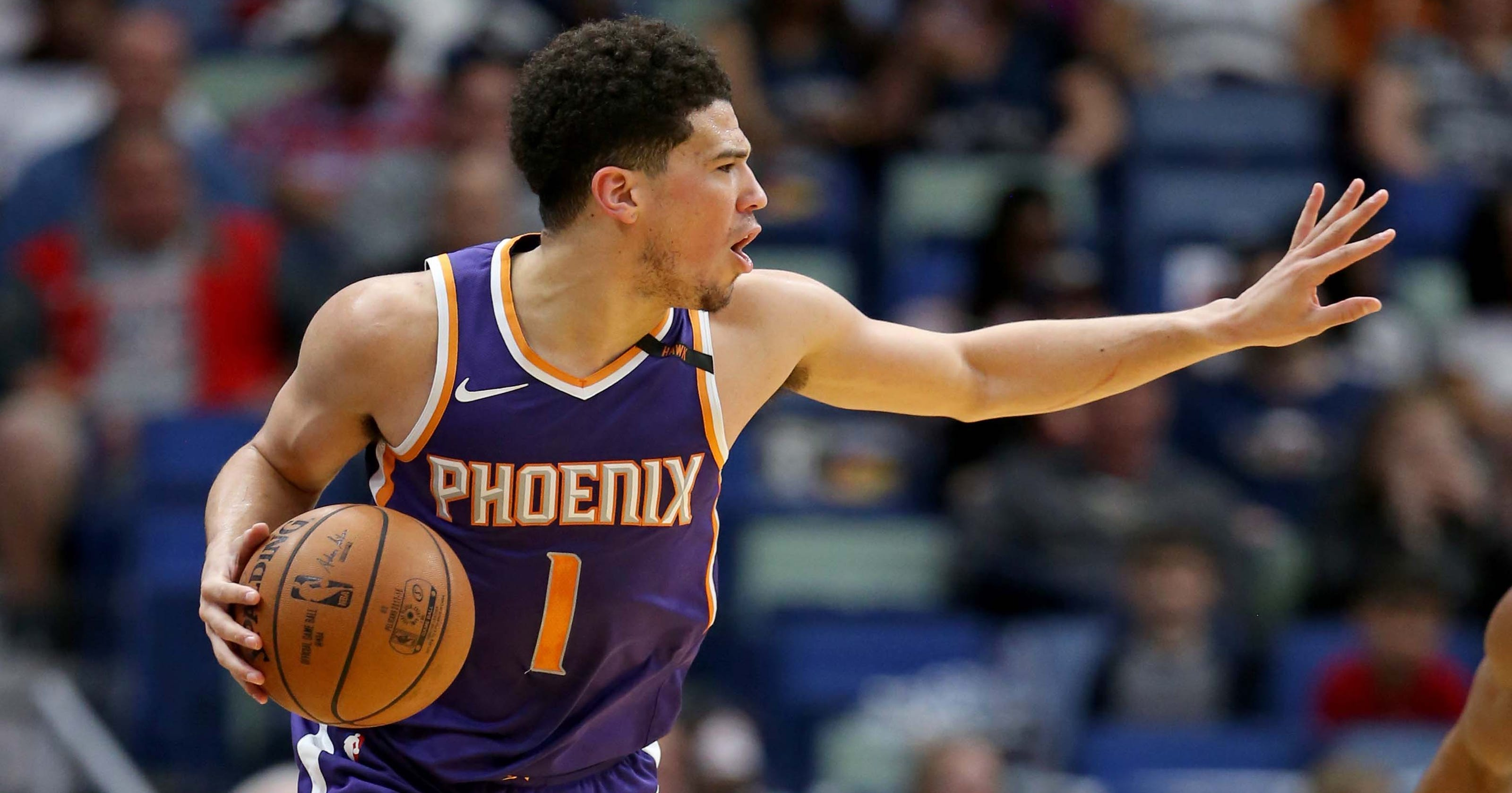 cd342c935 Phoenix Suns nearing  158 million contract extension with Devin Booker