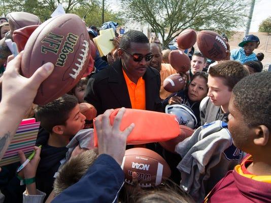 NFL: Pro Bowl-Team Irvin Practice