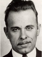 John Dillinger, as he looked at the time of his death in 1934