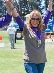 Araceli Bernardasci is pictured at the 2014 Relay for Life of Salinas.