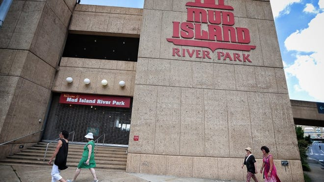 Mud Island River Park (Jim Weber/The Commercial Appeal)