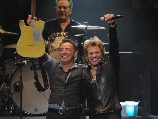 Bruce and Bon Jovi