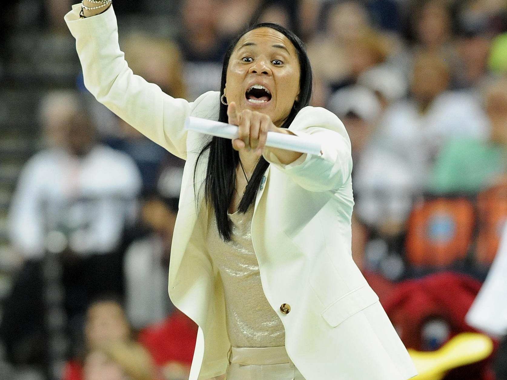 South Carolina coach Dawn Staley is excited to welcome Canadian point guard Shay Colley to the Gamecocks women's basketball team.