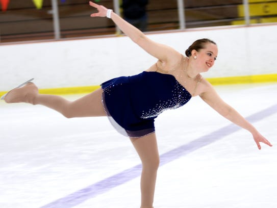 Battle Creek's Linnea Hughes competed at the 40th annual