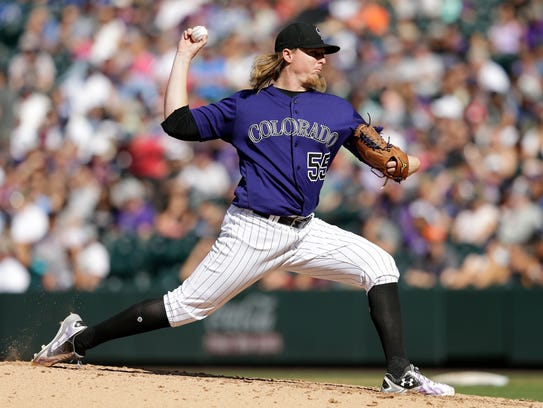 Jon Gray, who is 10-8 with a 4.42 ERA, is a rarity: