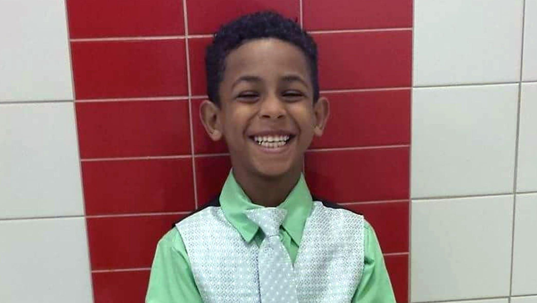8-year-old boy said he had fainted, school says