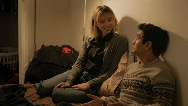 "In ""The Big Sick,"" the relationship between Kumail (Kumail Nanjiani) and Emily (Zoe Kazan) is tested."