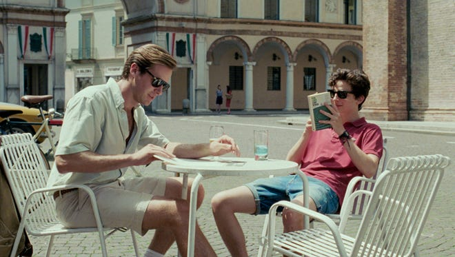 Armie Hammer and Timothée Chalamet  in ?Call Me By Your Name.?   Sony Pictures Classics Armie Hammer (L) as Oliver and Timothée Chalamet as Elio in the motion picture 'Call Me By Your Name'