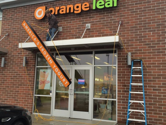 Orange Leaf closed in November 2014 in Grand Chute.