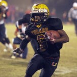 Tulare Union running back Romello Harris is one of the Central Section's top college football recruits for the Class of 2016.
