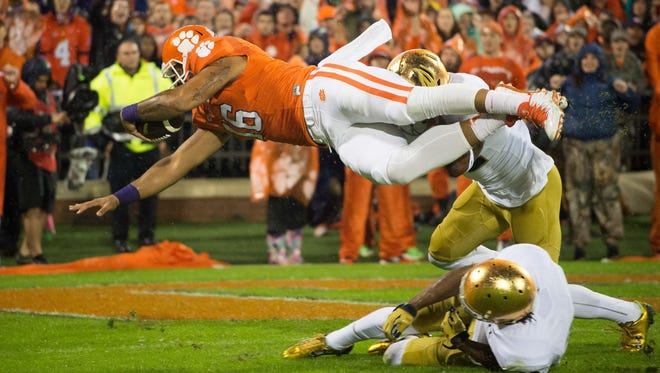 Clemson garnered its first big win of the season in 24-22 victory over Notre Dame.