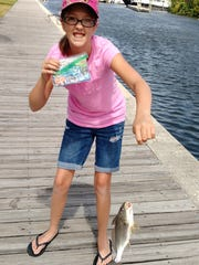 Grace Lahr won third most fish, second most snapper,