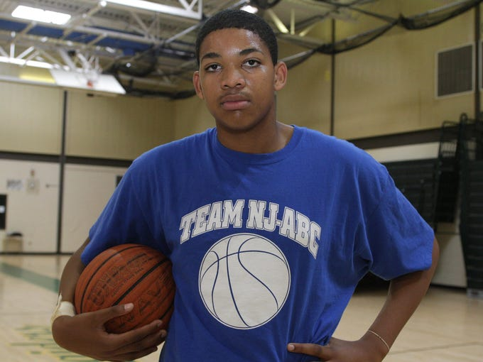 2011: Karl-Anthony Towns poses for a portrait.