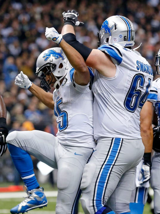 Jerseys NFL Outlet - Report card: Stafford, Detroit Lions' O-line earn high marks