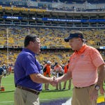 """Guilbeau's SEC Road Trip: Cowherd's """"Wizard"""" may have lost his playbook at halftime at LSU"""