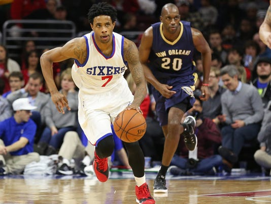 NBA: New Orleans Pelicans at Philadelphia 76ers