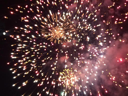 The Bradach Co. held its annual fireworks display at