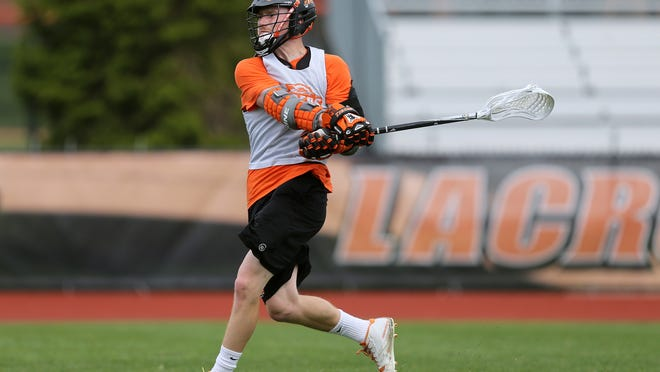Allister Warren is a senior captain on the RIT men's lacrosse team. The No. 1-ranked Tigers (21-0) host Tufts (19-2) in Sunday's 2 p.m. NCAA semifinals.
