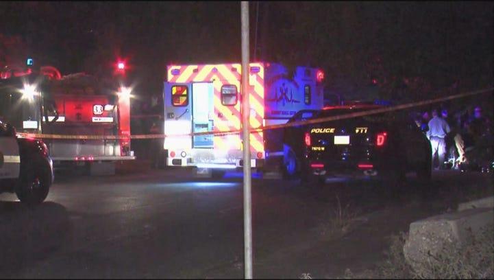 San Antonio police investigate deadly shooting at Villa de Luna and 35th Street.