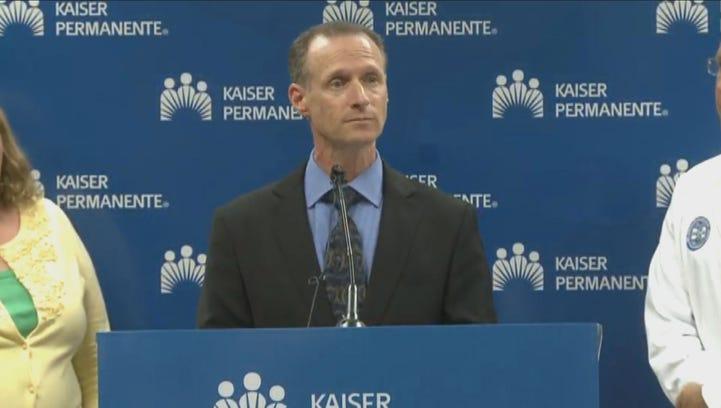 California Department of Public Health Director Dr. Ron Chapman announces patient at Kaiser Permanente South Sacramento Medical Center tested negative for the Ebola virus.