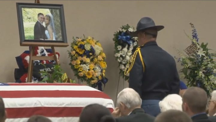 Thousands gather for deputy funeral