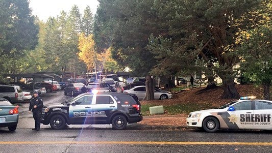 Police say three are dead following a shooting in Beaverton.
