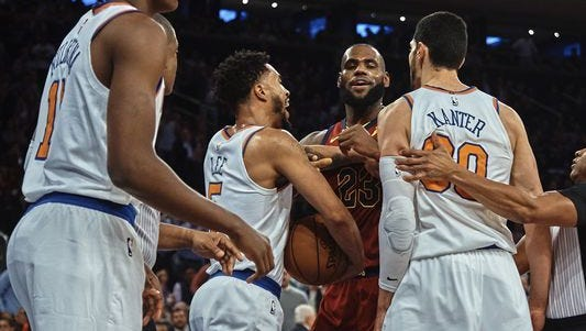 Enes Kanter reignited his feud with LeBron James on Saturday.