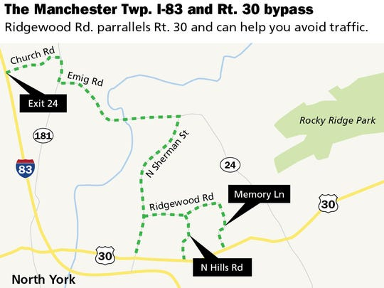 The Manchester Twp. I-83 and Rt. 30 bypass