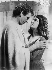 Image from the 1963 Hollywood film Cleopatra, starring
