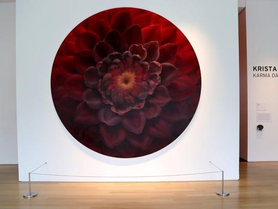 """Karma Dahlia II"" by Krista Schoening at the Grand"