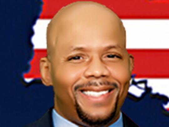 Derrick Edwards, a Democrat, is a candidate for Louisiana state treasurer.