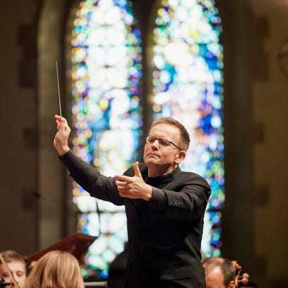 The Vocal Arts Ensemble presented Bach's B Minor Mass with the Cincinnati Chamber Orchestra in St. Catharine of Siena, Westwood.