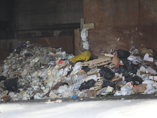 The Waste Management Inc. transfer station, in Hillsdale,