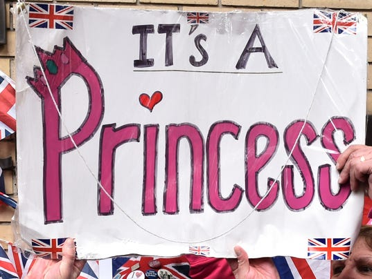 Royal baby is a princess