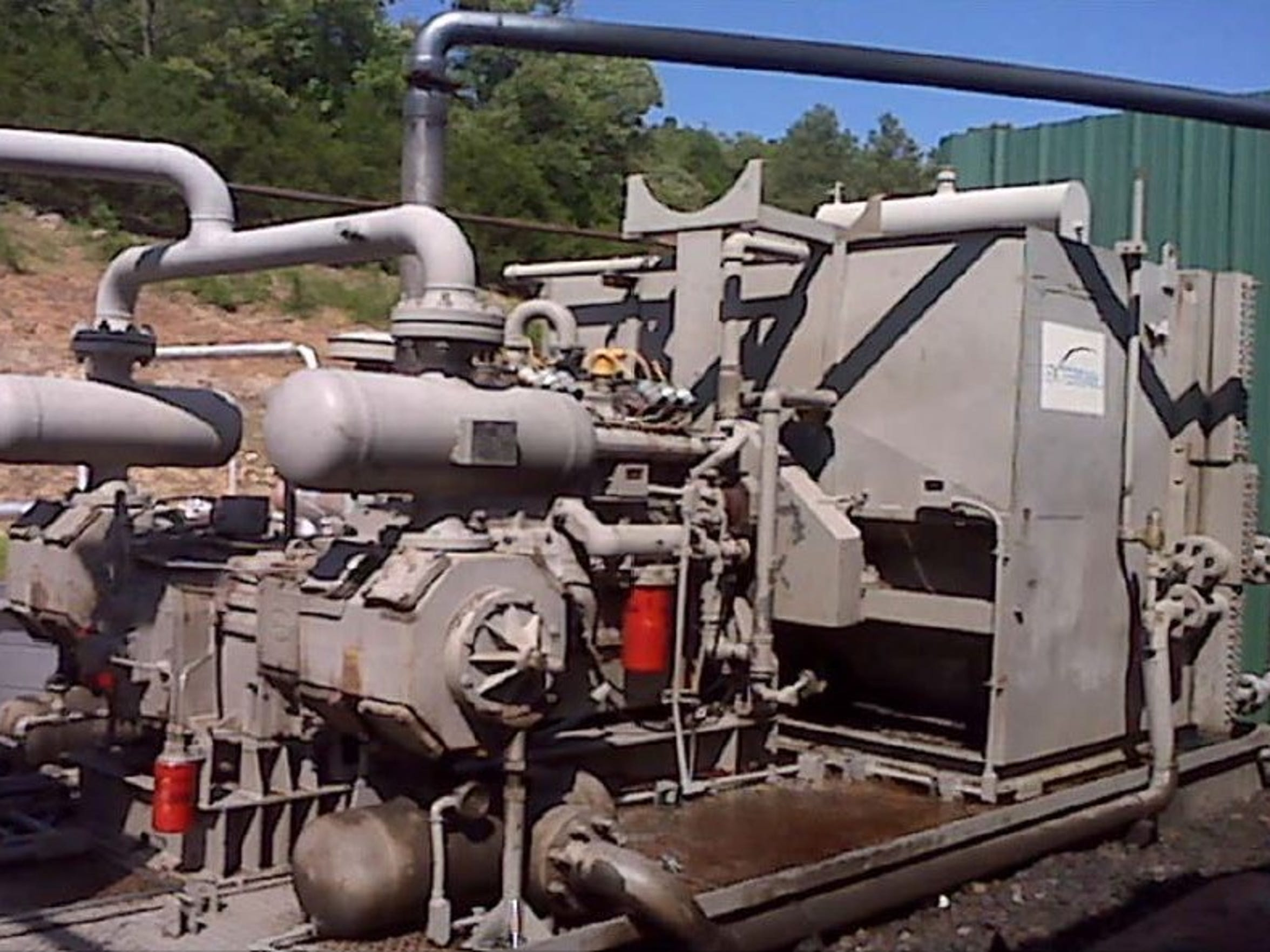 Several oil and gas equipment have in Eddy County have