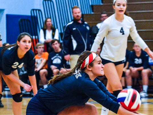 West York vs Allentown Central Catholic in PIAA Class 3-A girls' volleyball