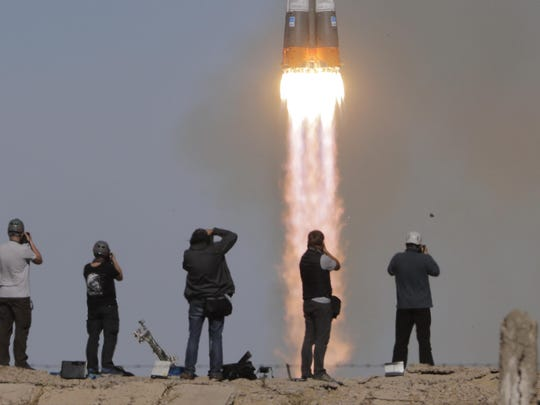 Kazakhstan Russia Space Station (2)