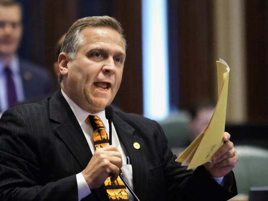 Rep. Mike Bost, R-Ill., is the man Brendan Kelly is