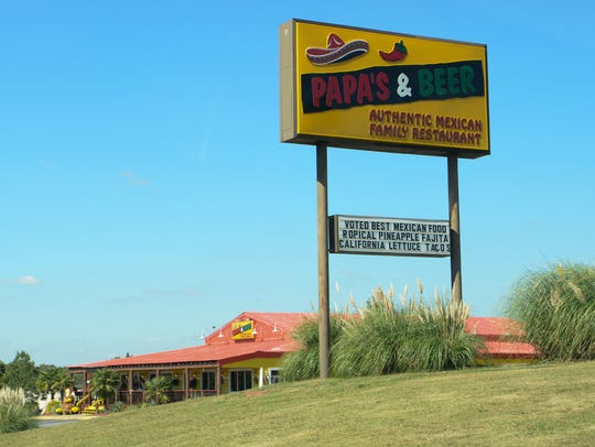 Papa's and Beer location in Anderson.