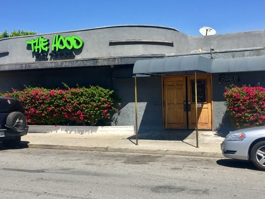 The Hood Bar and Pizzeria on Highway 111 in Palm Desert.