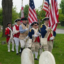 Service to nation remembered: Grave markers of Revolutionary War veterans rededicated