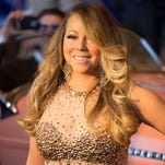 Mariah Carey makes her grand arrival at Caesars Palace April 27 in Las Vegas to mark the May 6 opening of her Vegas showcase.