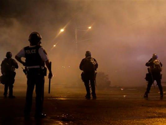 APTOPIX Police Shooti_Roem
